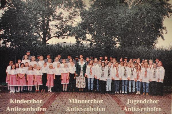 1996: Foto Antiesenhofener Chöre