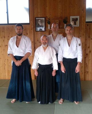 Trainen in Iwama bij Hiroki Nemoto Sensei