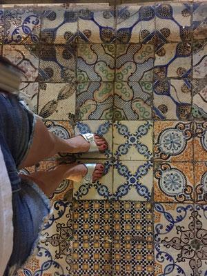 Mosaik wohin das Auge reicht!