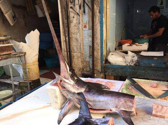 Der Schwertfisch - scheint der Sizilianische Nationalfisch zu sein.