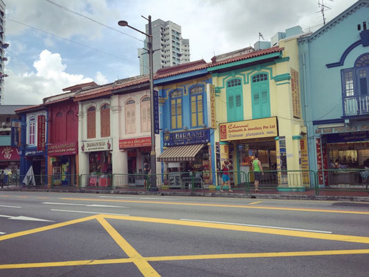Farbenfrohes Little India.