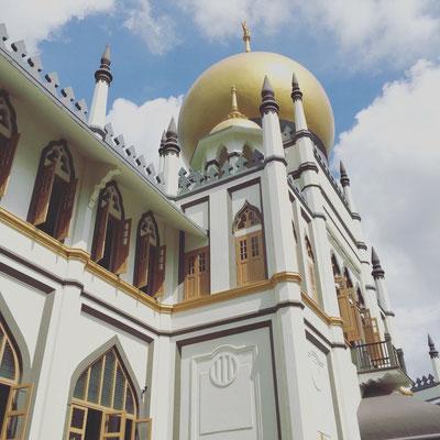 Sultan Moschee.