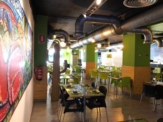 Detalle de lateral Beers and Burros, auténtico restaurante mexicano en Valencia