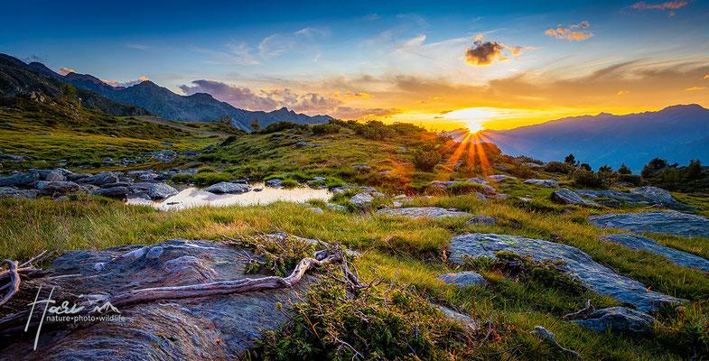 Sonnenuntergang Jochpfarrer