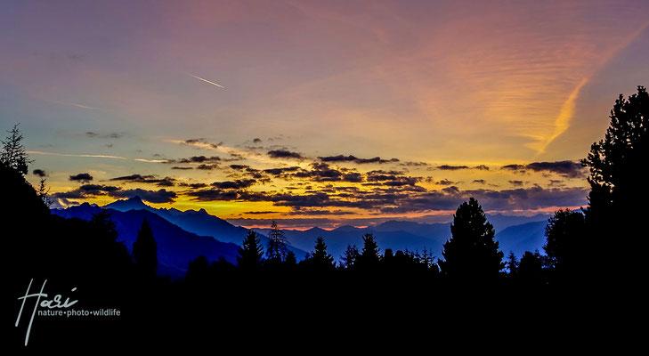 Farben des Abendlichts