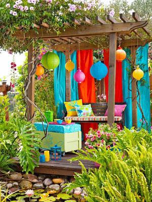 help and ideas to design a sensory garden flowerpotman