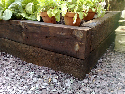 Simple ways to make safe cheap raised garden beds for Cheapest way to make raised beds