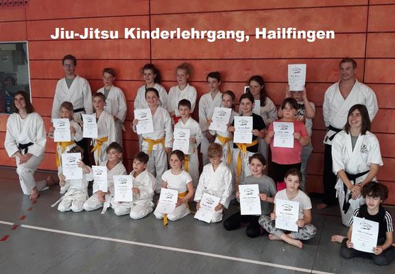 Jiu-Jitsu Kinderlehrgang, Hailfingen 30.03.2019