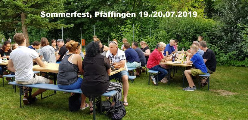 Sommerfest, Pfäffingen 19./20.07.2019