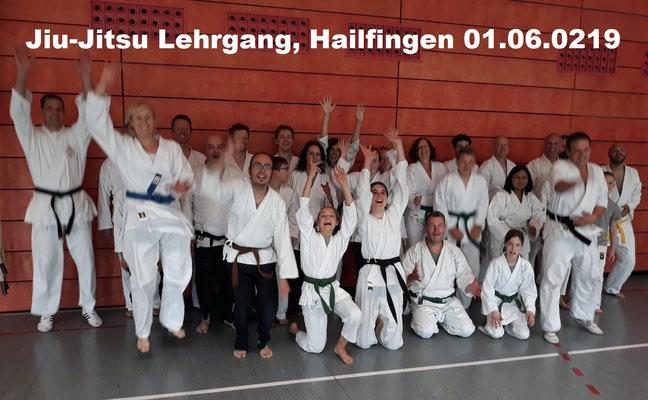 Jiu-Jitsu Lehrgang, Hailfingen 01.06.2019