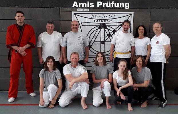 Arnis Prüfung, Hailfingen 04.05.2019