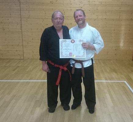 Jiu-Jitsu Prüfung, Oberwolfach 13,10,2019