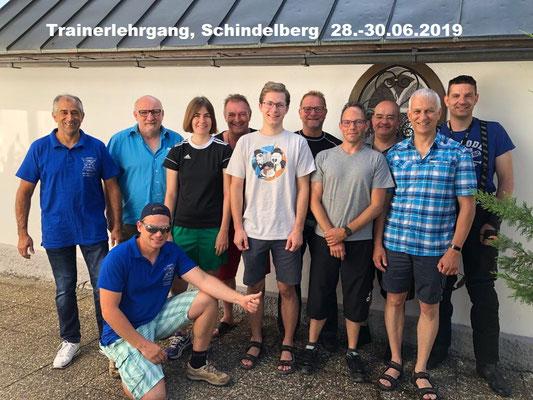Trainerlehrgang, Schindelberg 28.-30.06.2019
