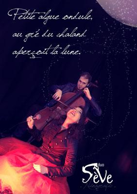 Shooting photo Pochette CD pour le groupe Sève Duo