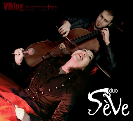 Pochette CD pour le groupe Sève Duo