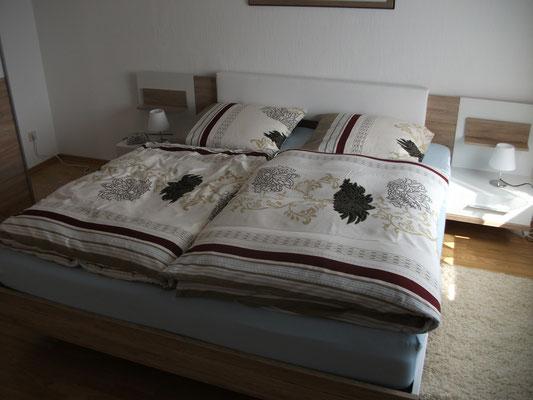 Mit Doppelbett