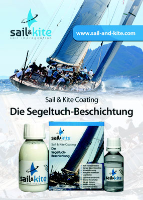 Nanoprotect Sail & Kite Coating - Flyer Rückseite