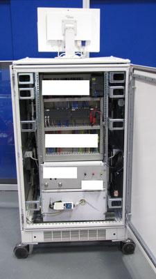 Siemens AG - Prüfturm hinten