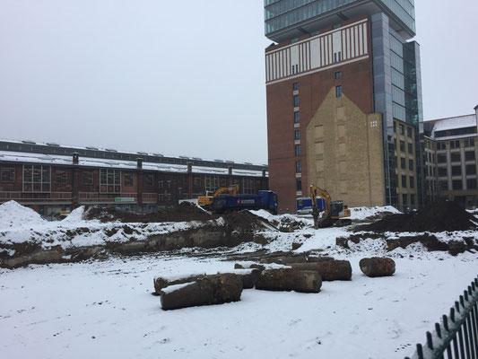 Ridder und Meyn Ingenieurgesellschaft mbH - Warschauer Platz Bürohaus und Hotel - LPH 2 - Rohbauzustand