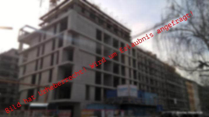 Ridder und Meyn Ingenieurgesellschaft mbH - The Yard Berlin - LPH 2 bis 8 - Rohbauzustand