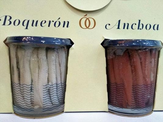 ¿cual te gusta más el boquerón o la anchoa?