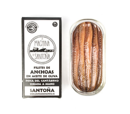 Anchoas de Santoña La machina
