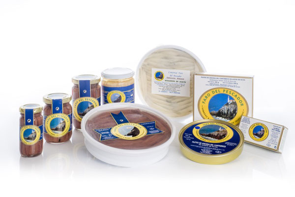 Productos de Conservas El faro del Pescador