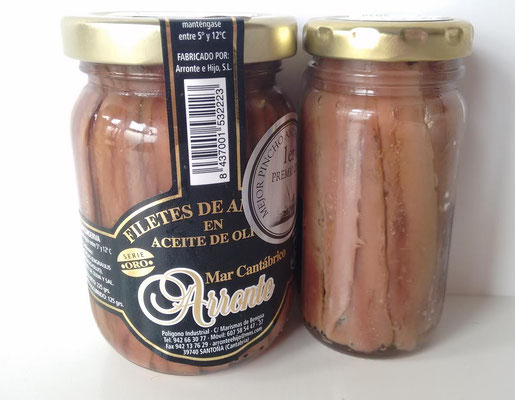 Tarros de Anchoas Arronte