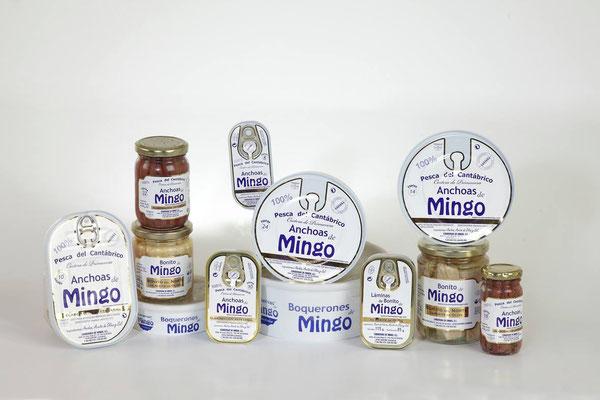 Productos de conservas Mingo