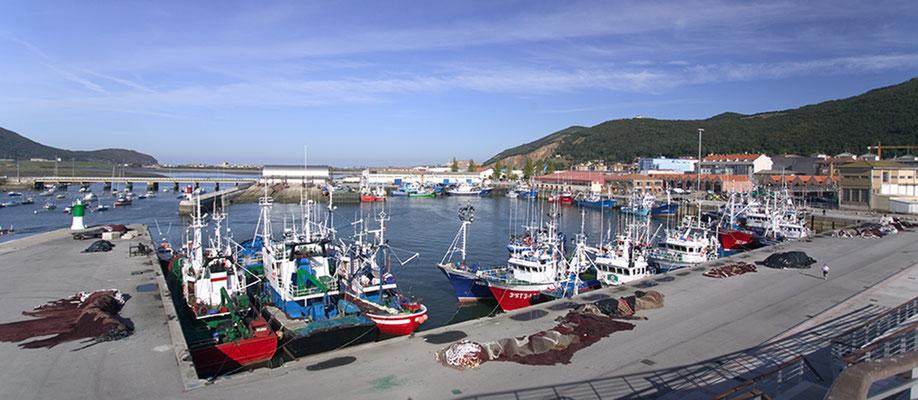 Directo del puerto de Santoña