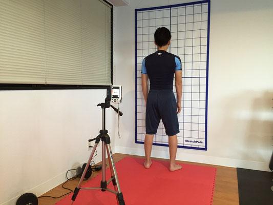 お客様の姿勢の特徴、改善点を分析します