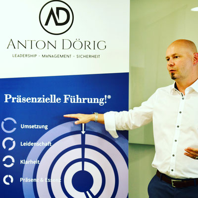 Mehr Präsenz und Essenz in der Führung! - Anton Dörig: Experte, Berater und Coach für Führungskräfte aller Management-Stufen.