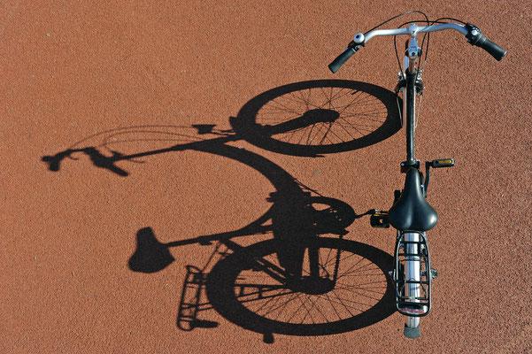 dann auf's Fahrrad - Foto Christian Burmeister