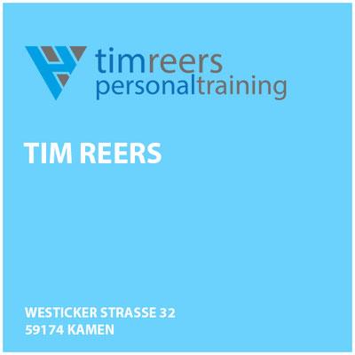 Tim Reers     Westicker Strasse 32 59174 Kamen