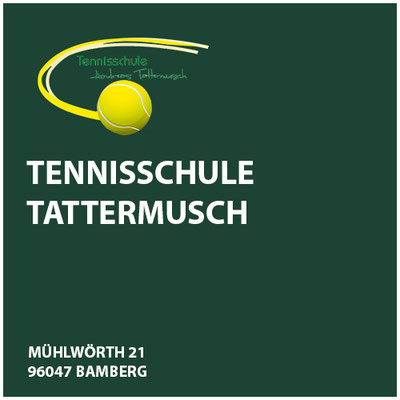 Tennisschule Tattermusch   Andreas Tattermusch        Mühlwörth 21  96047 Bamberg