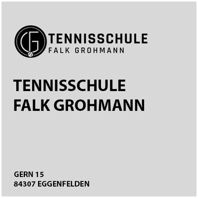 Tennisschule Falk Grohmann     Gern 15  84307 Eggenfelden