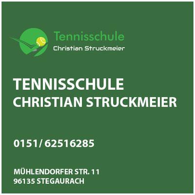 Tennisschule Christian Struckmeier  SpVgg Stegaurach     Mühlendorfer Str. 11  96135 Stegaurach