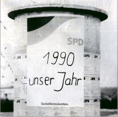 Wahlkampf 1990