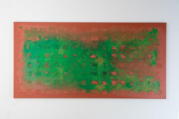 Element 2 | 60 x 120 cm | Acryl auf Leinwand