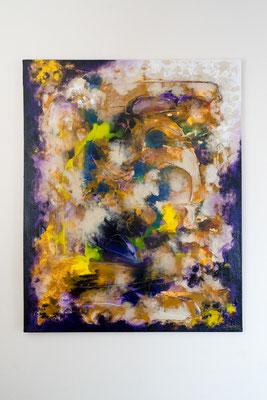 Versuchung | 100 x 80 cm | Acryl auf Leinwand