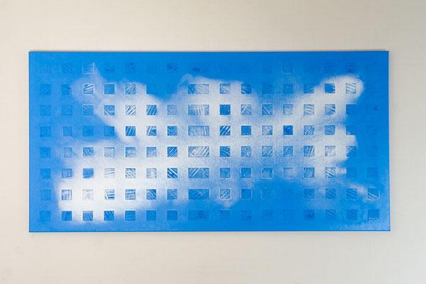 Element 3 | 60 x 120 cm | Acryl auf Leinwand