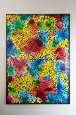 Punkt 1 | 140 x 100 cm | Acryl auf Leinwand