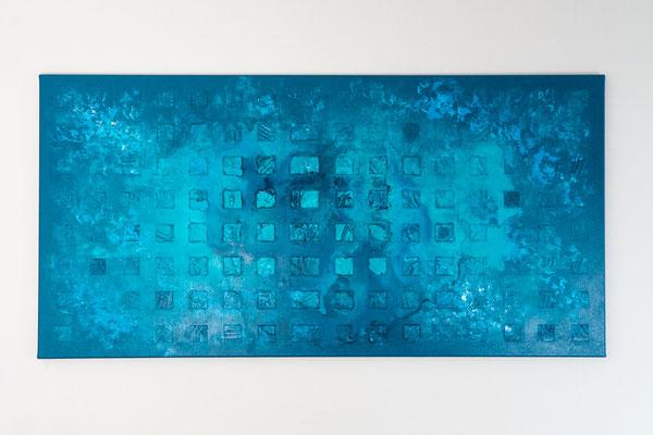 Element 4 | 60 x 120 cm | Acryl auf Leinwand