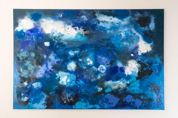 Unruhe | 80 x 120 cm | Acryl auf Leinwand