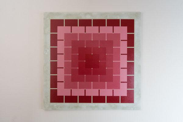 Quadrat 2 | 90 x 90 cm | Acryl auf Leinwand