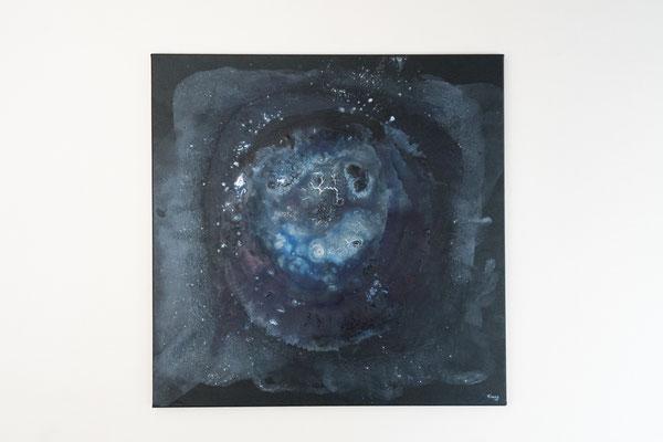 Ferne | 80 x 80 cm | Acryl auf Leinwand
