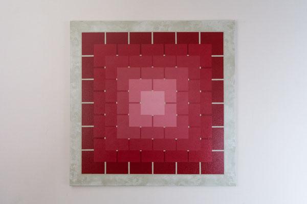 Quadrat 1 | 90 x 90 cm | Acryl auf Leinwand
