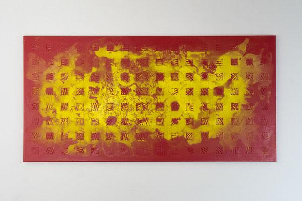 Element 1 | 60 x 120 cm | Acryl auf Leinwand