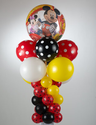Air-Filled Balloon Column Mickey Mouse