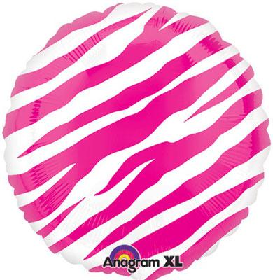 "18"" Foil Balloon Tiger Stripes"
